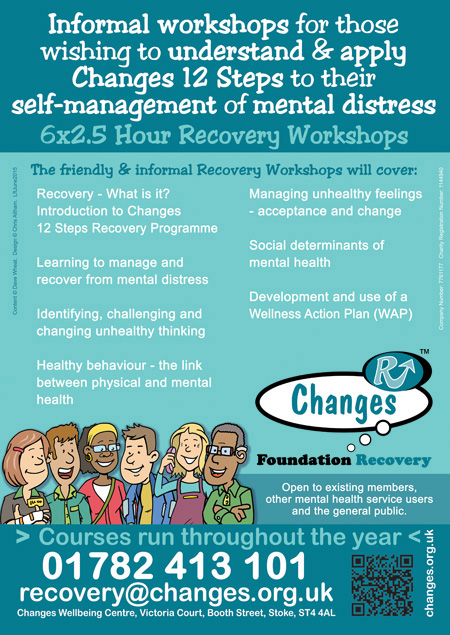 Recovery Workshops - Self-Management of Mental Distress